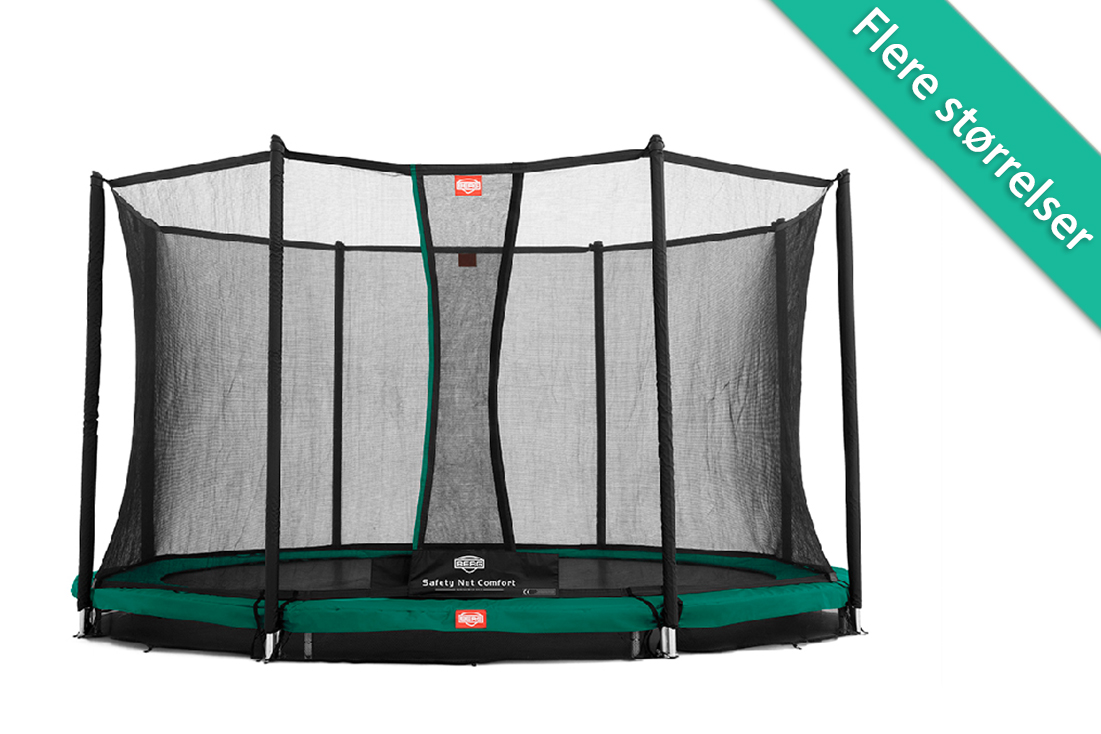 Image of Berg Champion InGround trampolin med Comfort sikkerhedsnet - 330 cm