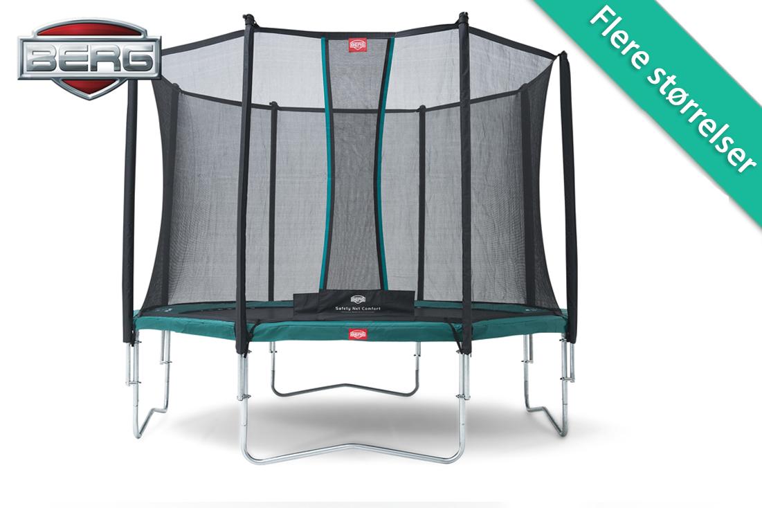 Image of   Berg Favorit med sikkerhedsnet komfort - 270 cm