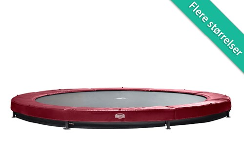 Image of   Berg Elite InGround Trampolin Rød - 330 cm