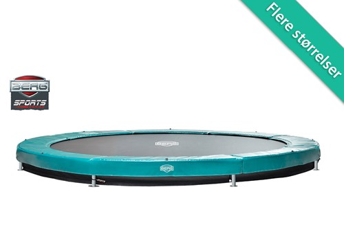 Image of   Berg Elite InGround Trampolin Grøn (1) - 330 cm