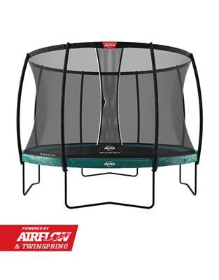 Image of   Berg Elite med Deluxe DLX XL sikkerhedsnet, på ben grøn
